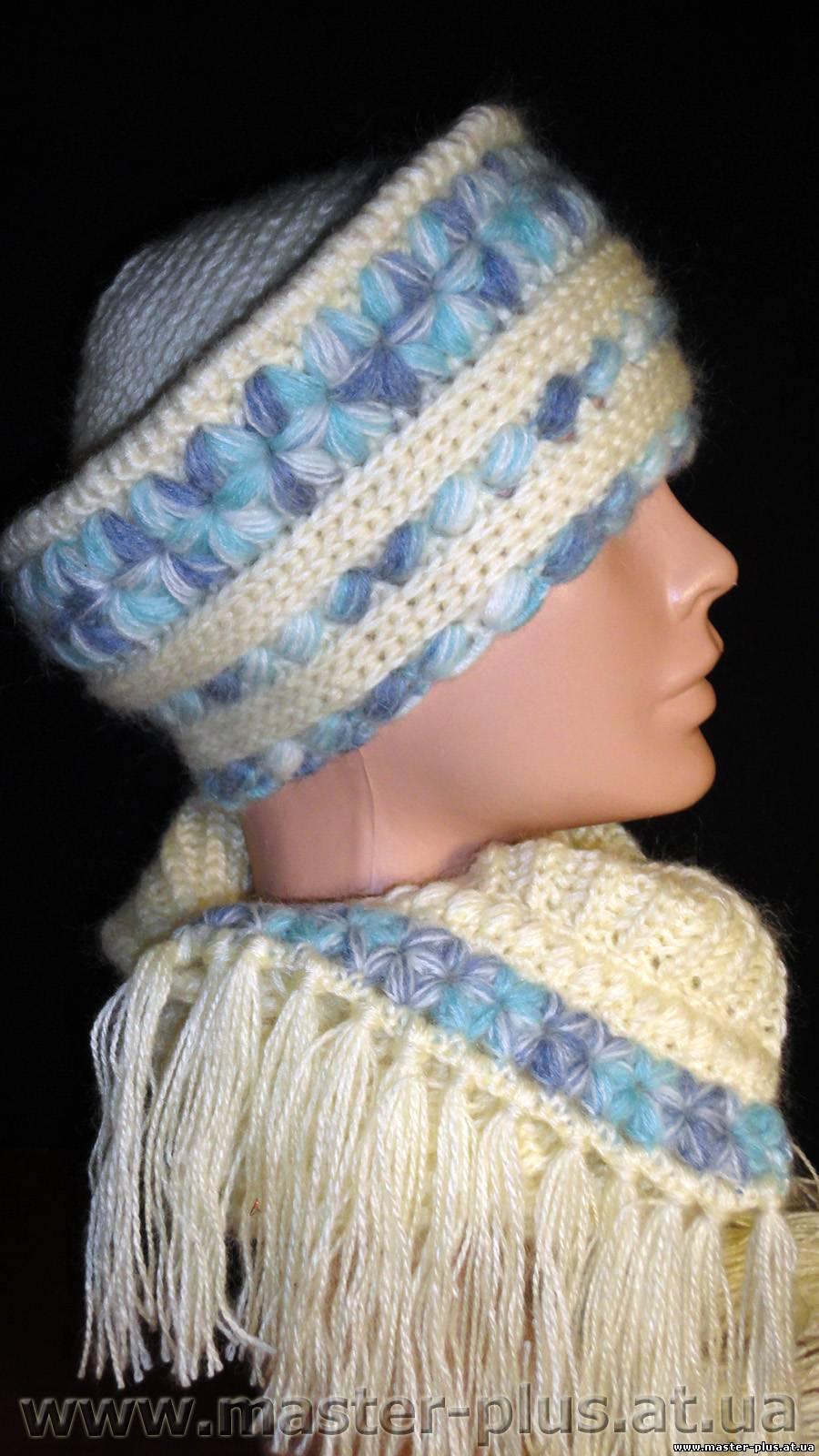 шапка-кубанка крючком схема и описание